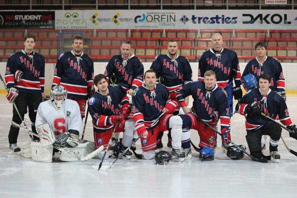 Nováček karvinské AHL - Gympl.