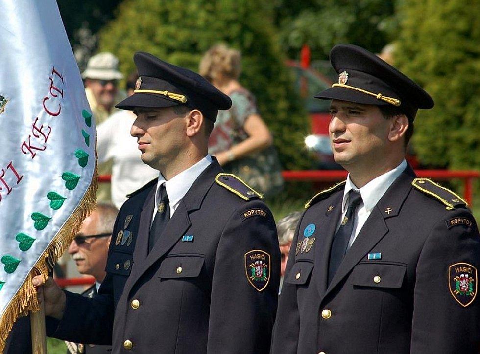 Bohumín-Kopytov. Bratři Michal a František Mlynkecovi. SDH Kopytov.