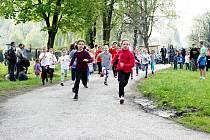Tradiční běžecká soutěž ve Stonavě.