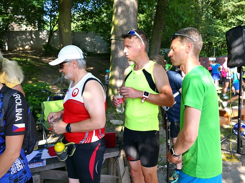 Velkému zájmu se těšil ve středu za horkého slunečného počasí v Havířově bronzový závod Olympijského běhu.
