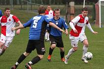 Orlovští fotbalisté vypadli v Brumově na penalty.