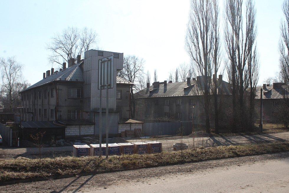 Horní Suchá. Průmyslová zóna František.