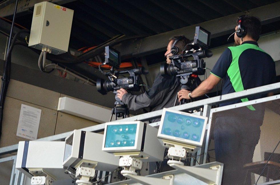 V Karviné se odzkoušel systém videorozhodčího.