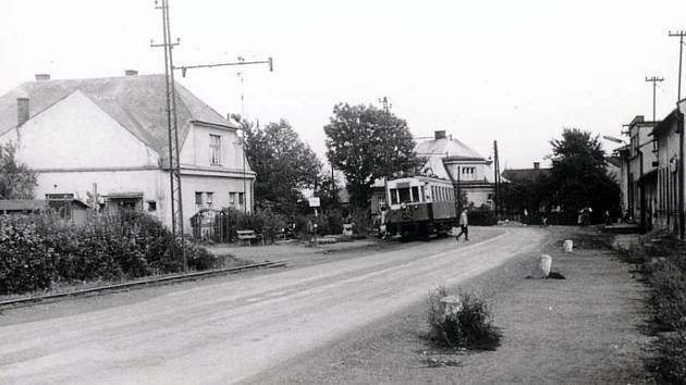 Když ještě Doubravou jezdila tramvaj.