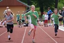 Děti si v Havířově zasoutěží v běžeckých soutěžích.