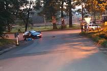 Tragická nehoda cyklisty v Dolních Marklovicích.