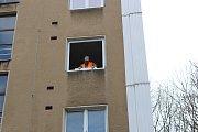 Výměna oken v domech města Havířova.