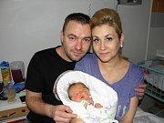 Elis Klimesová se narodila 6. ledna paní Žanetě Ondruchové z Dětmarovic. Porodní váha miminka byla 3190 g a míra 48 cm.