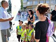 Závěr Evropského týdne mobility v Havířově patřil zábavnému dopoledni.
