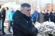 Trenér Karviné Norbert Hrnčár.
