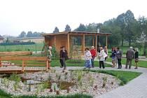 Zahrada Mateřské školy v Darkovičkách.