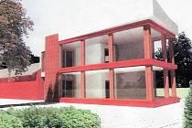 Takto by měla vypadat nová přístavba komerčního objektu v centru Orlové.