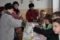 Druhé kolo volby prezidenta republiky. Karviná