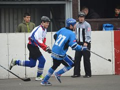 Hokejbalistům Karviné stačil na výhru jediný gól.