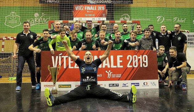 Baníkovci si vminulé sezoně na vítězný pohár sáhli, byť šlo oČeský pohár.