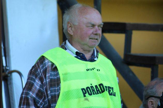 Dlouholetý předseda klubu Jan Gříbek.