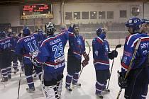 Orlovští hokejisté ještě v době, kdy hráli druhou ligu.