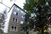 Zásah policistů a hasičů v ulici Jana Žižky v Havířově.