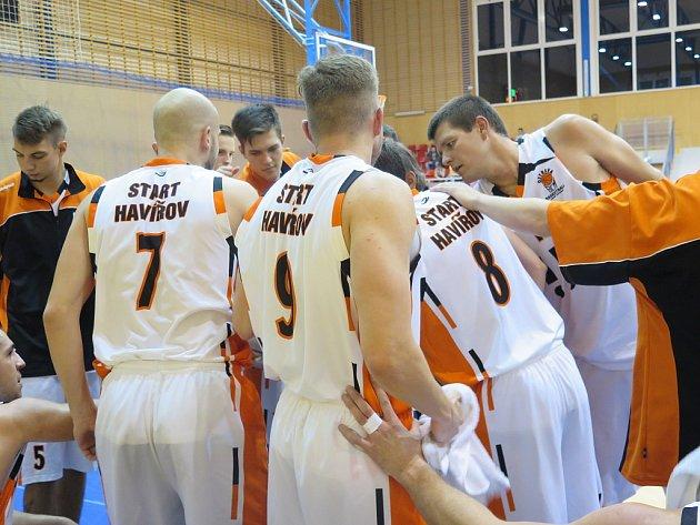 V pátek večer přivítali basketbalisté TJ Start Havířov svého rivala VŠB Ostrava.