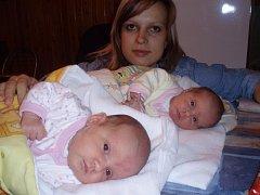 Mamince Janě Pituchové se 18. října 2007 narodily dvě holčičky, dvojčátka Isabel vážila 3350 g a měřila 48 cm. a Annabel vážila 2240 g a měřila 43 cm. Maminka je na cácorky velice pyšná! Dvojčátka jsou prvorozeným dárečkem.