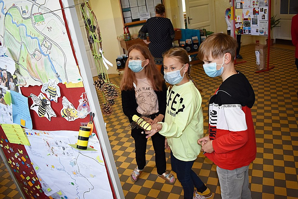 Kluci a holky ze ZŠ Frýdecká v Havířově-Bludovicích si čas za lockdownu zkrátili aktivitami v rámci projektu dobroDRUŽKA.