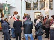 Prohlídka kostela Povýšení sv. Kříže.