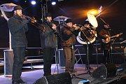 Vánoční městečko v Havířově - Stanley´s Street Dixie Band.