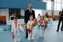 Marek Franta pokračuje v pořádání turnajů pro děti.