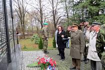 Uctění památky válečných veteránů.