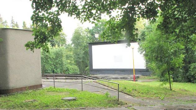 Letní kino v Havířově.