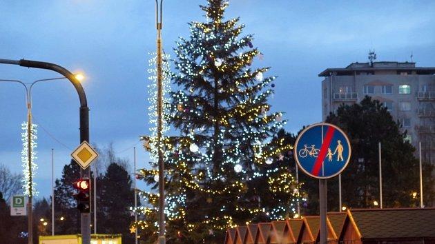 Vánočním městečko v Havířově