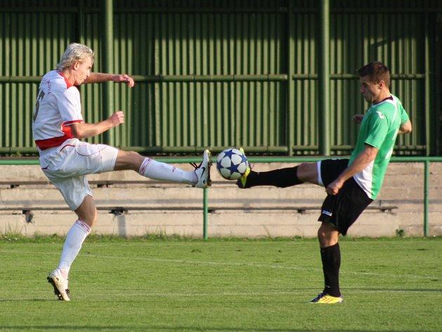 Derby Orlová - Hlučín nemělo vítěze.