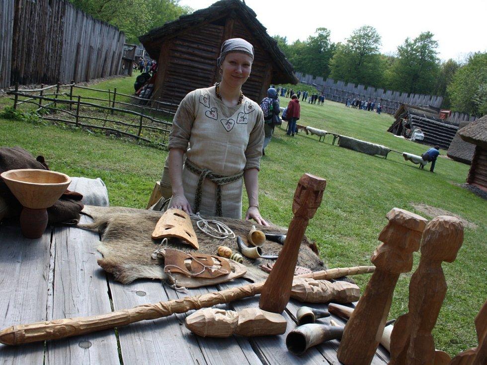Archeopark v Chotěbuzi. Ilustrační foto.