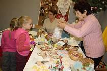Vánoční výstava a trh v orlovském domě kultury.