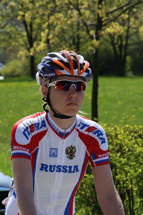 Loňská vítězka Taťjana Antošina.