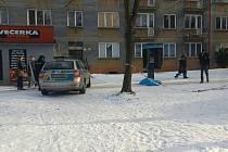 Místo úmrtní v ulici 1. máje zajistila policie.