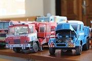 Modely všeho druhu i ukázky vojenské historie a hasičské techniky nabídl v sobotu letošní ročník tradiční výstavy Model Show Karviná ve volnočasovém středisku Juventus.