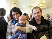 V pořadí páté letošní vítání občánků města Havířova.