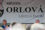 Návštěva prezidenta ČR v Moravskoslezském kraji.Prezident Miloš Zeman se setkal s občany Orlové.