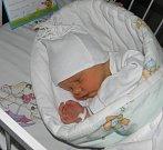 Matěj Štelcl se narodil 2. prosince paní Zuzaně Štelclové z Orlové. Porodní váha miminka byla 2810 g a míra 48 cm.