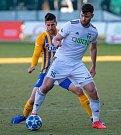 Tomáš Wágner (v bílém) dal gól na 1:1.