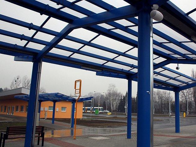 Přestupní terminál Ostrava-Hranečník.