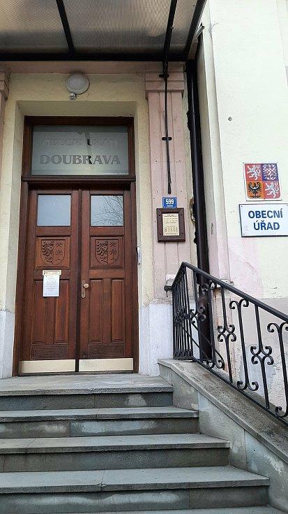 Doubrava. budova radnice.