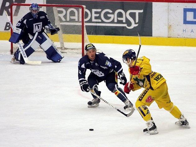 Hokejisté Havířova nestačili v dalším kole I. ligy na Jihlavu a už zítra je čeká Havlíčkův Brod.