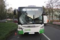 Autobus v Havířově srazil chodce.
