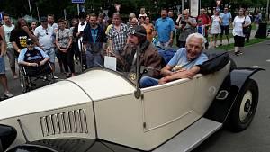 Setkání historických vozů v Bohumíně