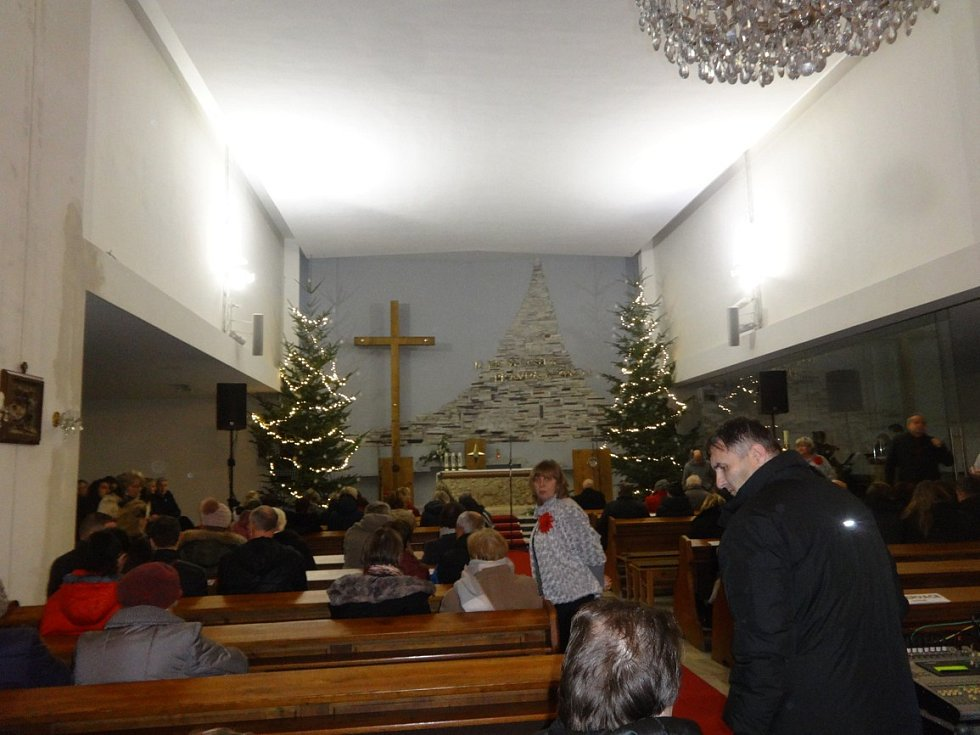 Vánoční koncert v kostele sv. Anny v Havířově.