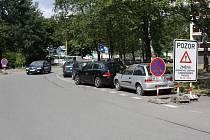 Upozornění motoristům, že Mládežnická ulice v Havířově-Podlesí bude jednosměrná.