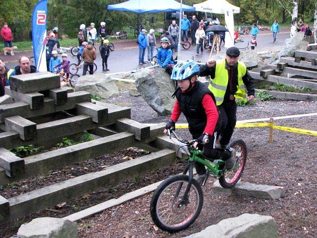 Cyklotrialové hry mládeže v Havířově.