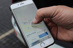 Parkoviště před hlavní poštou v centru Havířova dá motoristům přes mobilní aplikaci a navigaci informaci o aktuální obsazenosti.